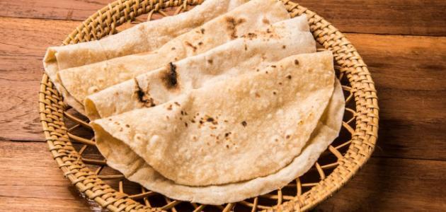 الخبز الهندي الأصلي