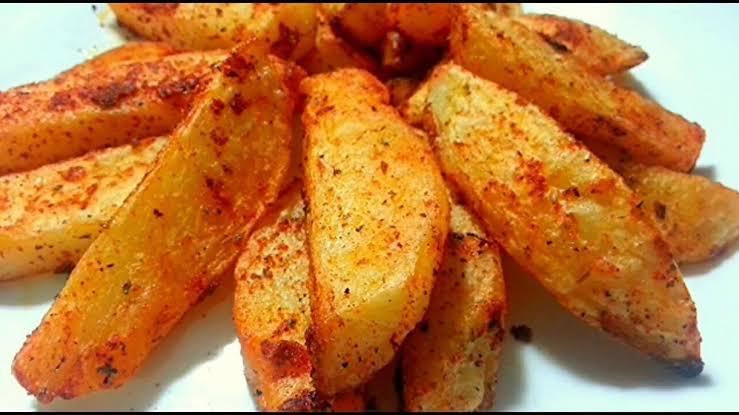 أصابع البطاطس المقرمشة الهندية