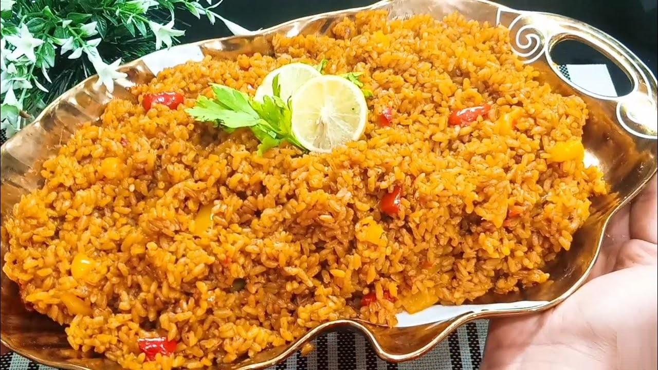 طريقة عمل سمك القاروص في الفرن مع الأرز الصيادية