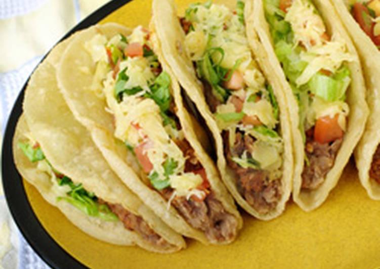 طريقة عمل التاكو المكسيكي بالدجاج
