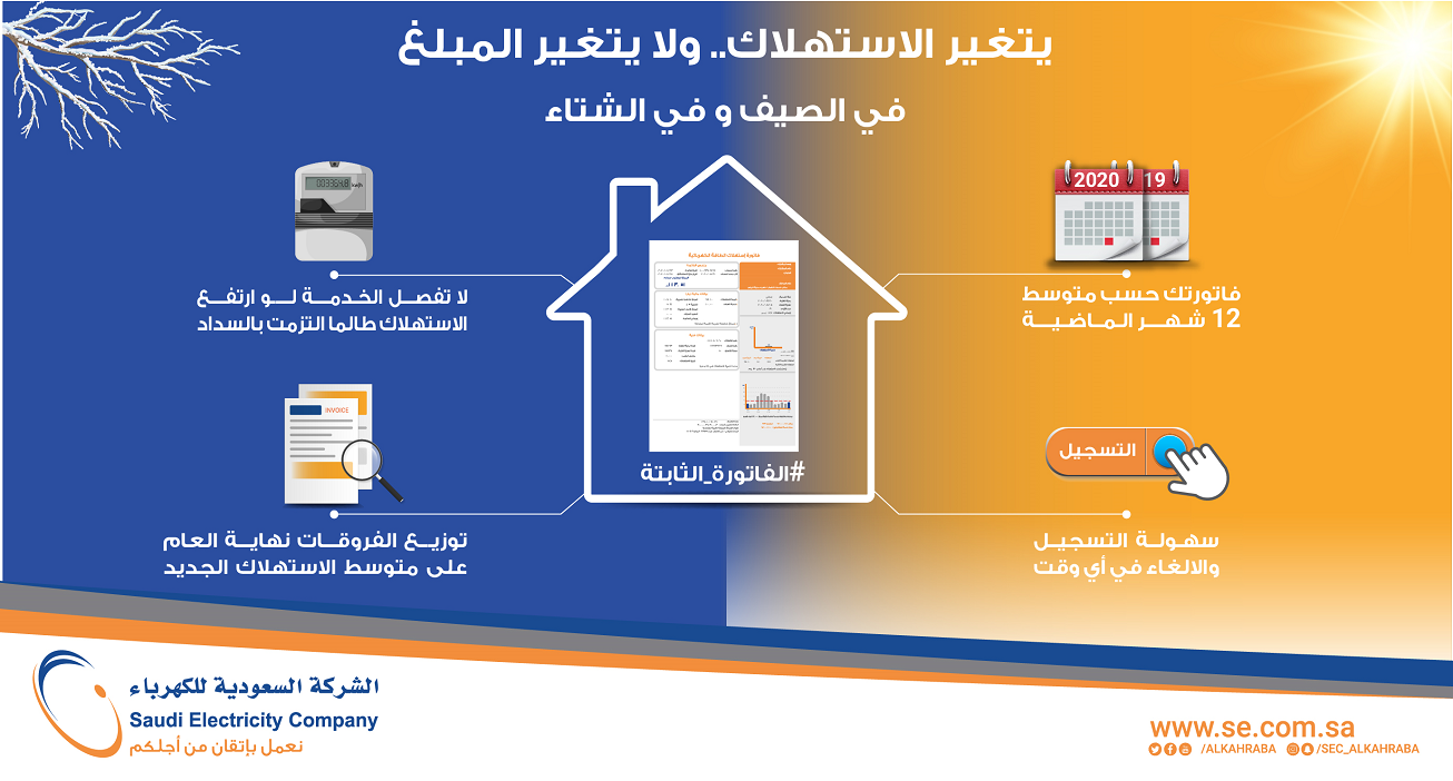 Inquire about the Saudi Electricity Company bill and subscribe to the electronic service