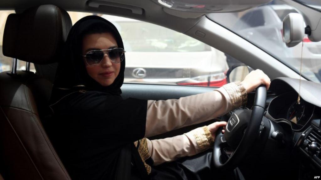 رخصة القيادة السعودية للنساء