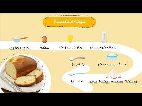 طريقة الكيكة الإسفنجية