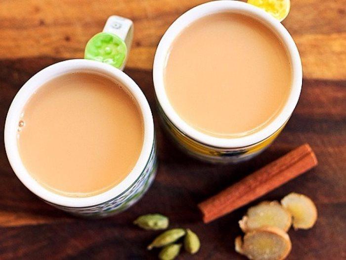 مشروب الشاي باللبن