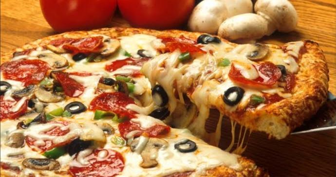 طريقة عمل البيتزا الدايت