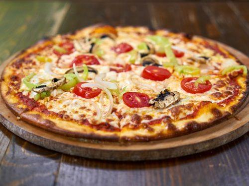 بيتزا الورد