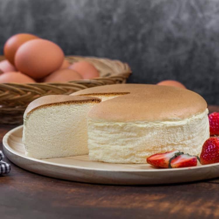 الكيكة اليابانية الاسفنجية