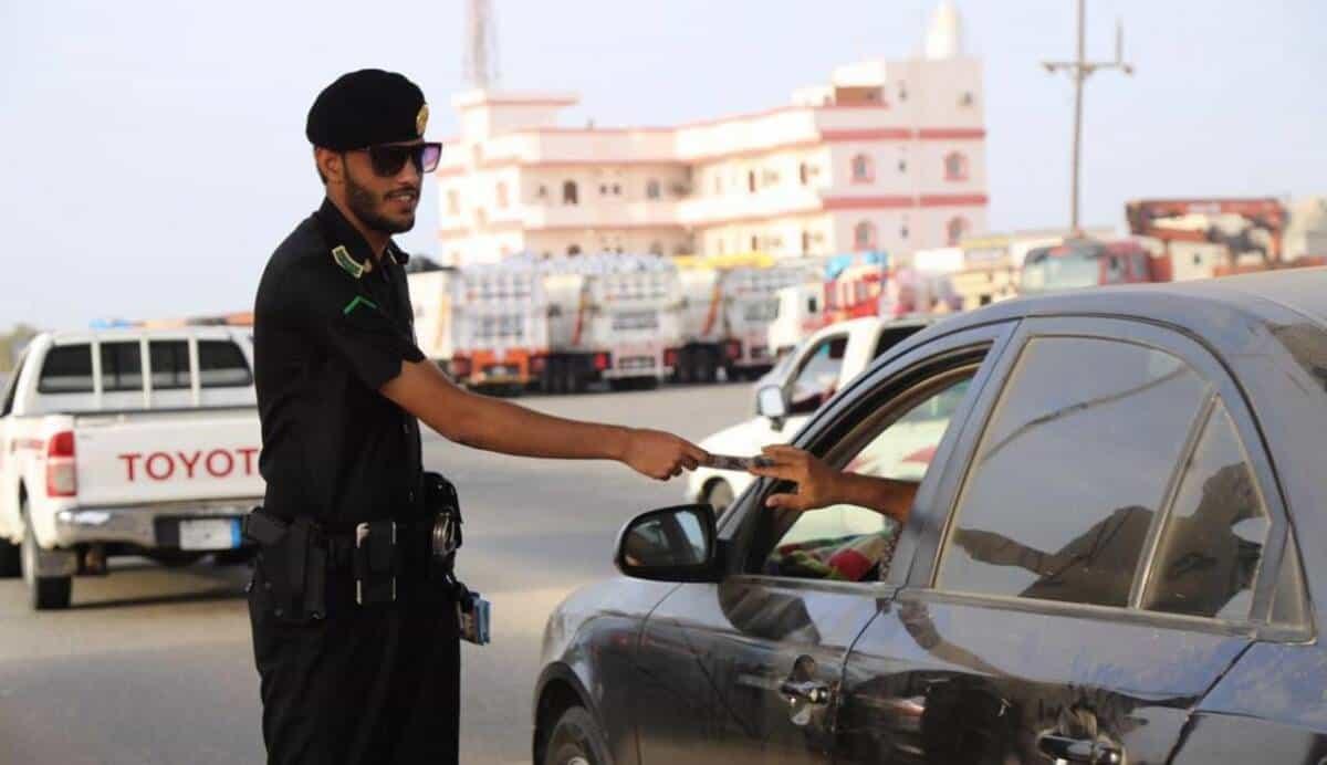 حركة سعودية تكشف غرامة تأخير دفع إشارة خرق