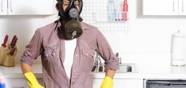 طرد رائحة المنزل الكريهة
