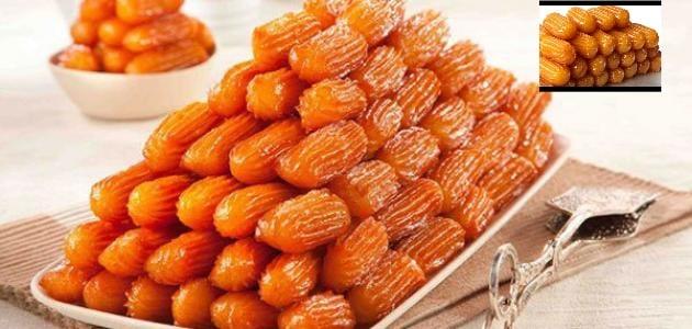 بلح الشام بدقيق السميد حضريها بأبسط المكونات الطعم لذيذ ومقرمش