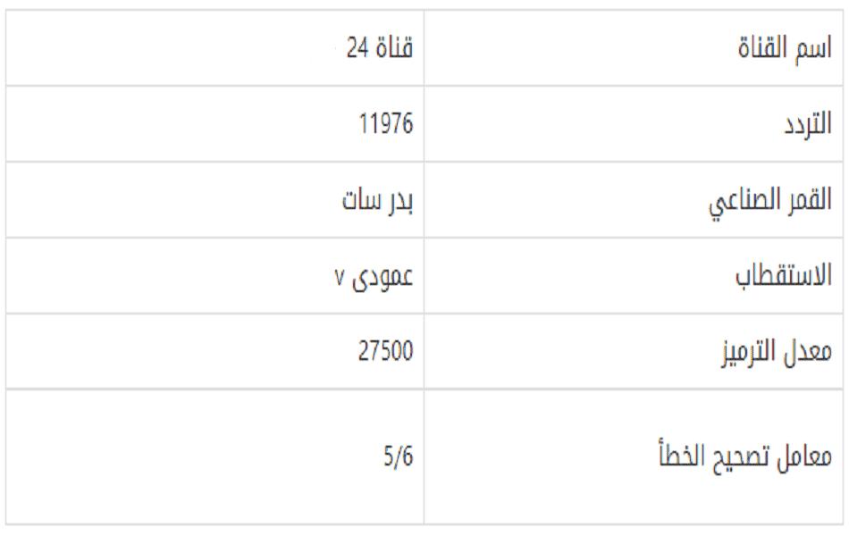 قناة 24 بدر سبت