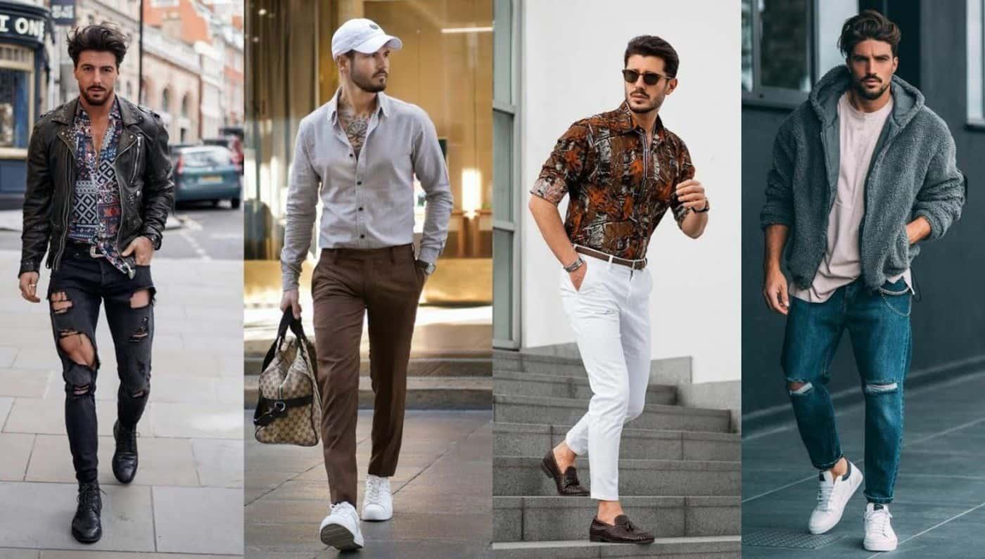 موضة الملابس الرجالي