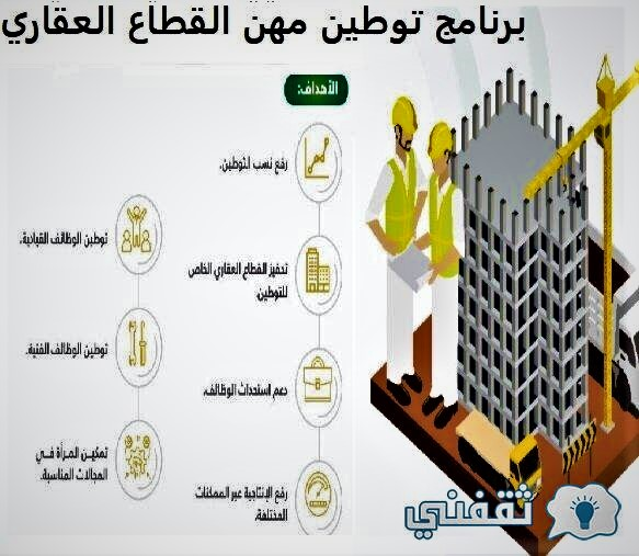 Real estate sector professions resettlement program