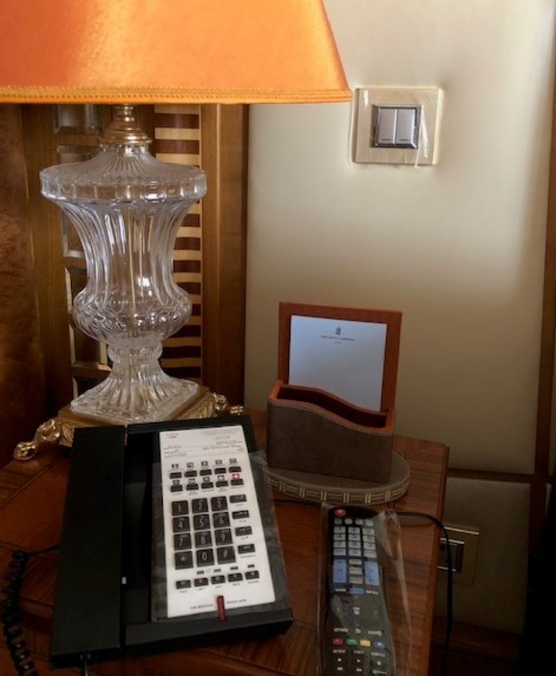 Remote control of the Ritz-Carlton Jeddah to prevent Corona