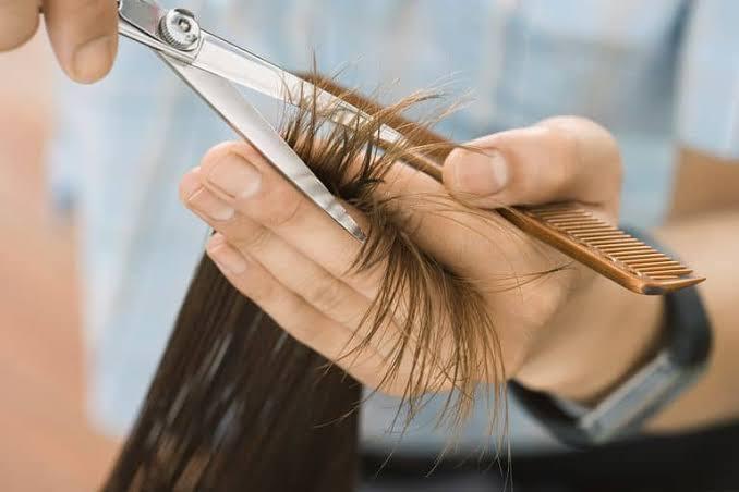 طريقة قص الشعر لزيادة طوله