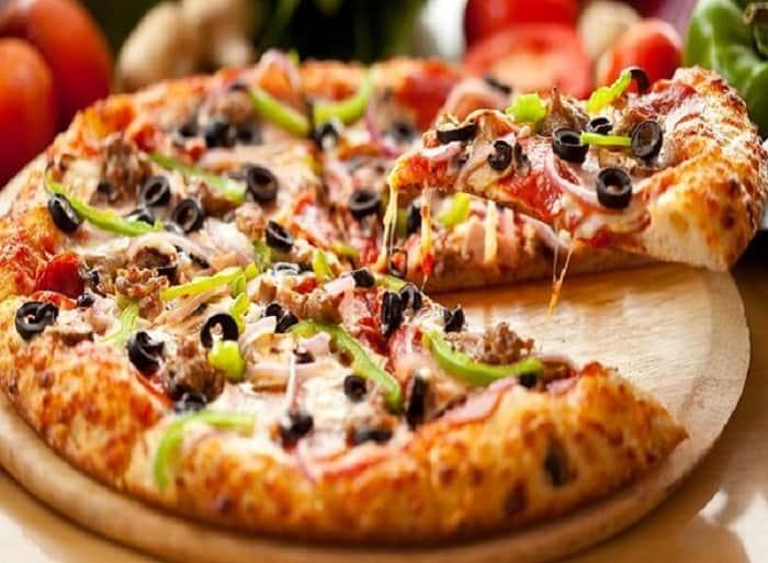 عجينة 10 دقايق للبيتزا