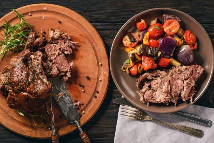 طريقة زرب اللحم في الفرن