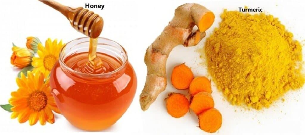 ماسك الكركم والعسل