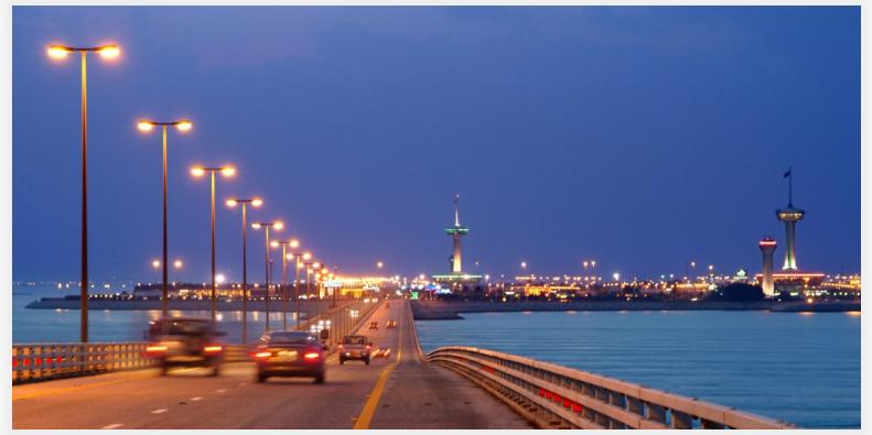 خدمة الدفع الالكتروني على جسر الملك فهد