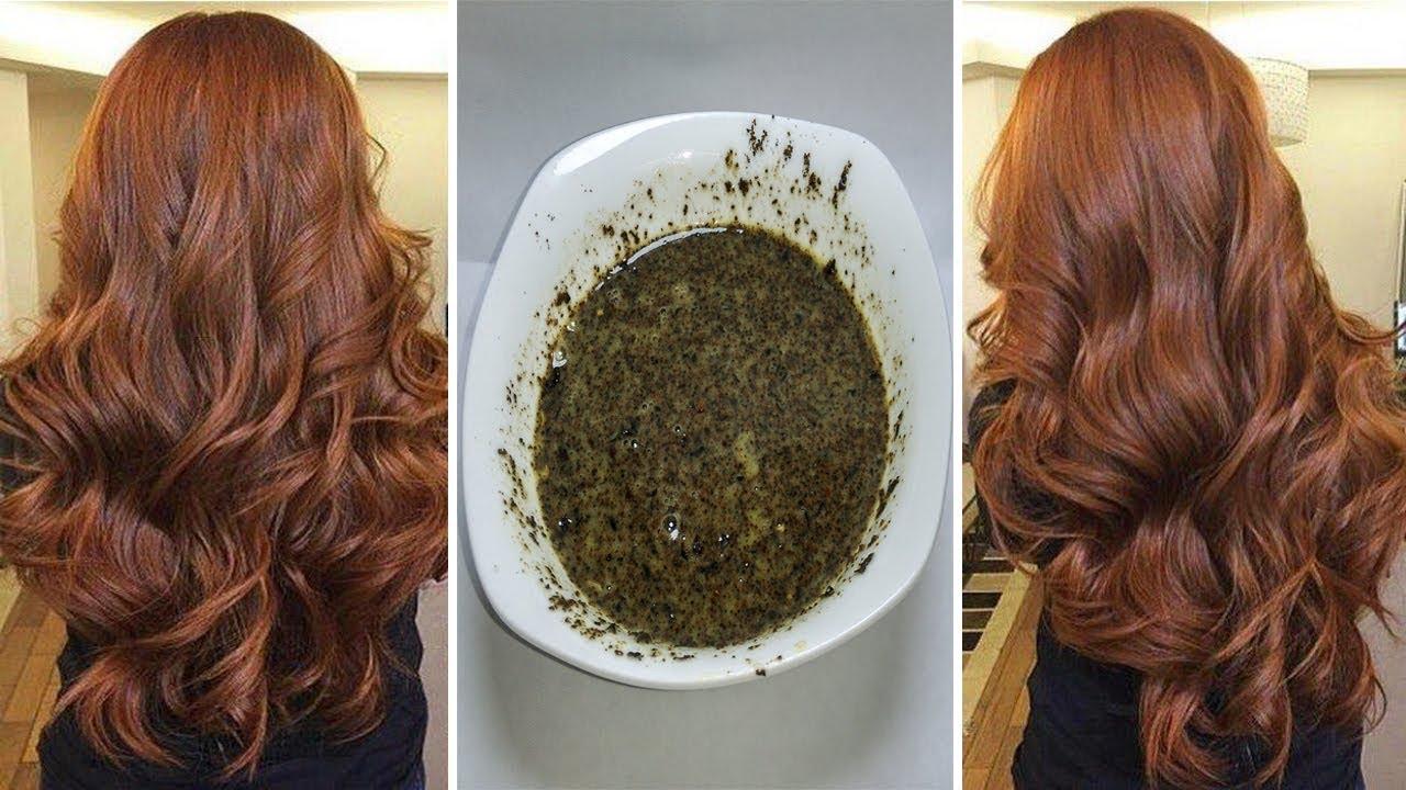 أسرار صبغ الشعر باللون البني الغامق والفاتح بدون مواد كيميائية عن تجربة نتيجة روعة