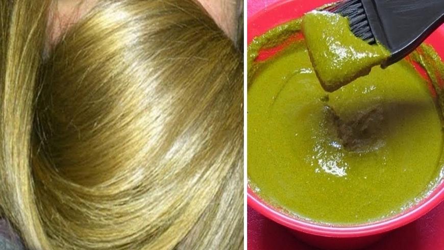 أسرار صبغ الشعر باللون الزيتوني الغامق والفاتح بدون صبغة ولا أي مواد كيميائية عن تجربة نتيجة روعة