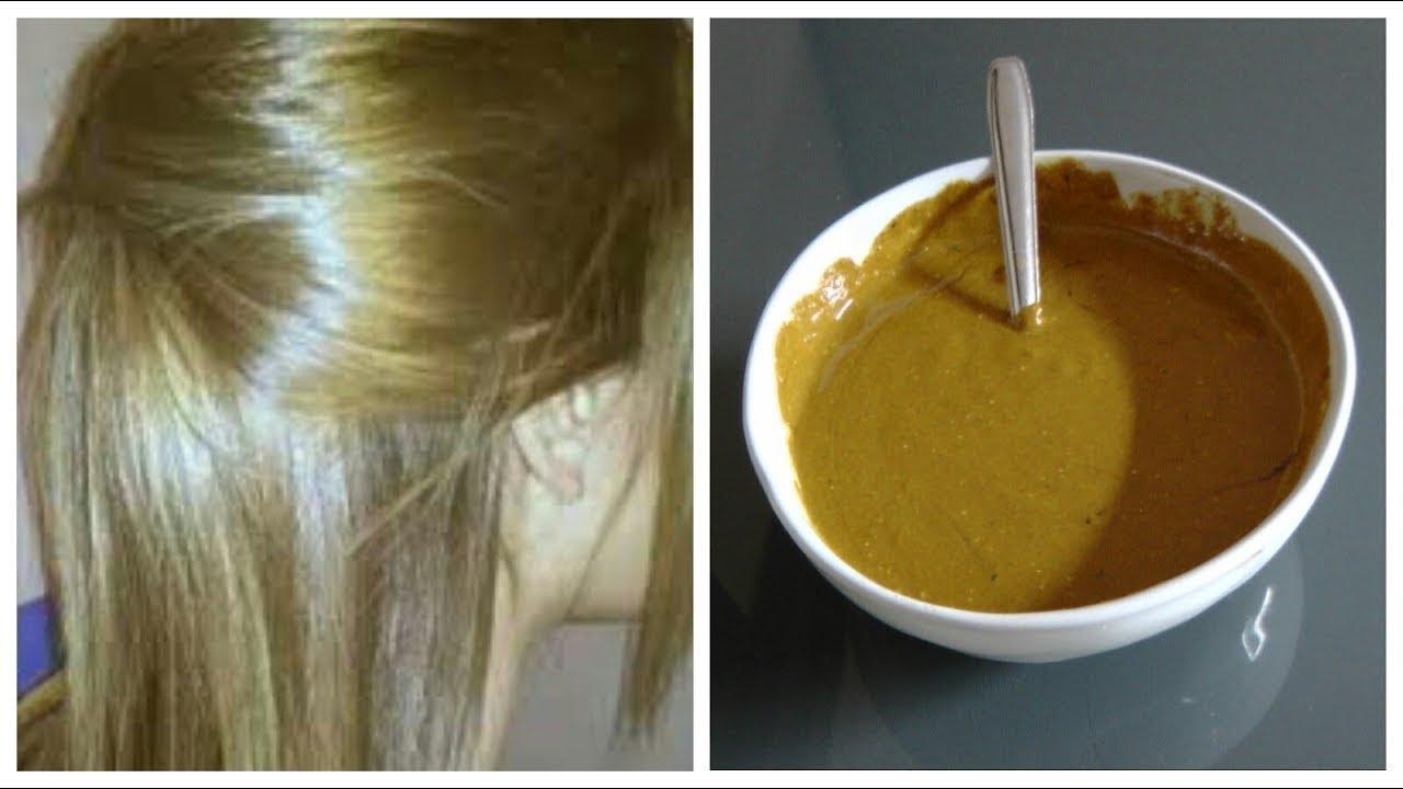 صبغ الشعر باللون الزيتوني الغامق والفاتح بمواد طبيعية بدون شيب وبدون مواد كيميائية