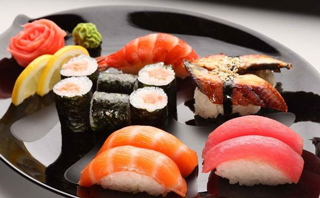 سمك السوشي