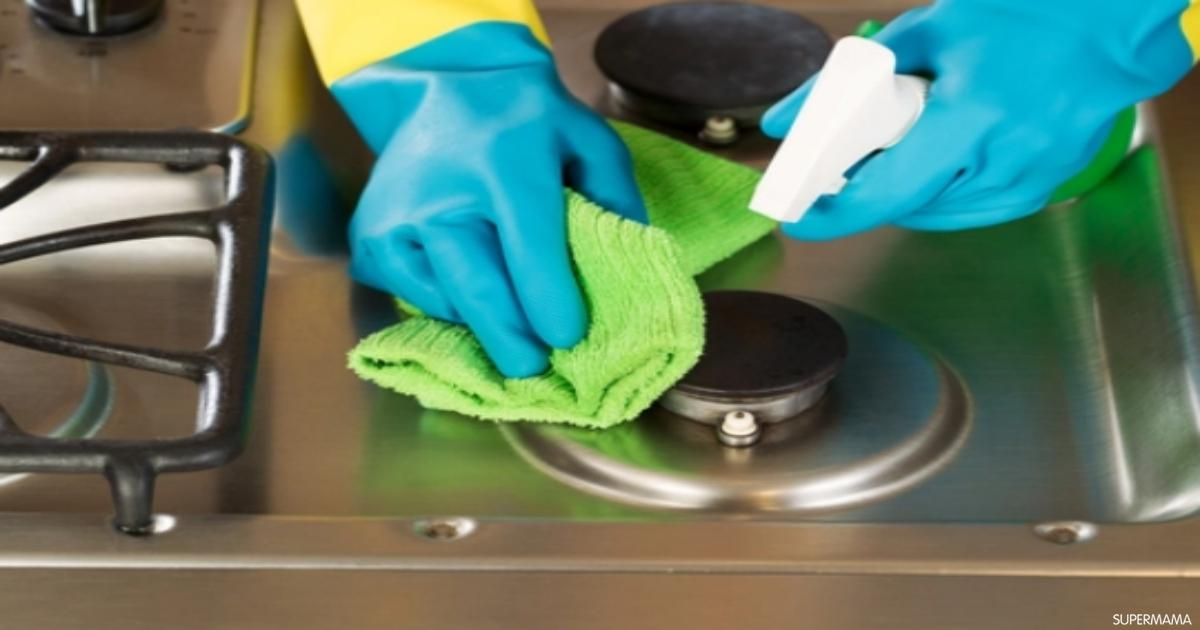 طريقة جهنمية لتنظيف البوتجاز والتخلص من دهون العيون بدون أي مواد كيميائية وبدون دعك