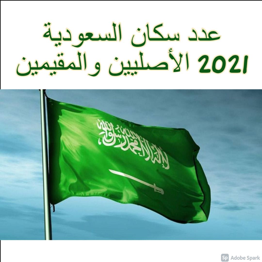 عدد سكان السعودية 2021 الأصليين والمقيمين