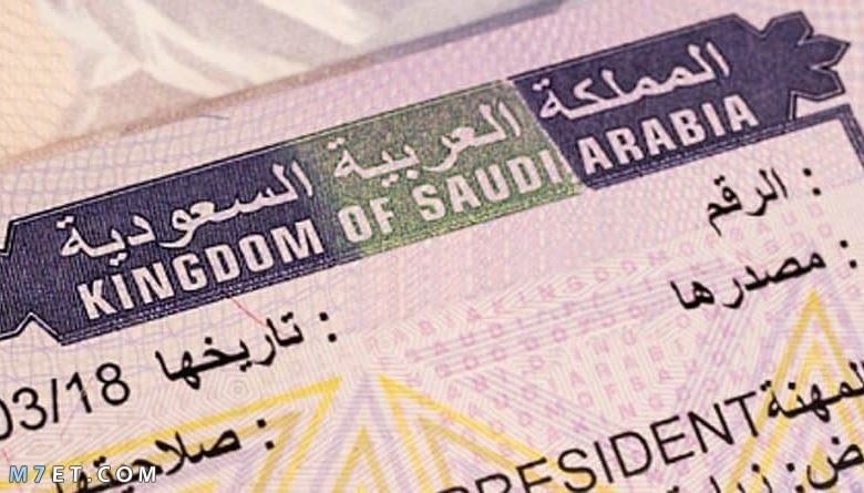 الاستعلام عن تسديد رسوم تأشيرة خروج وعودة