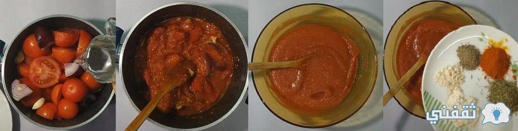 طريقة تحضير صلصلة البيتزا