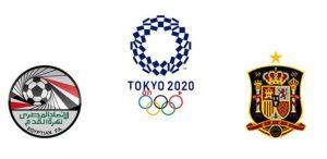 مصر واسبانيا اولمبياد طوكيو 2021