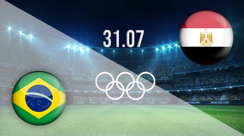 موعد مباراة مصر والبرازيل 2021
