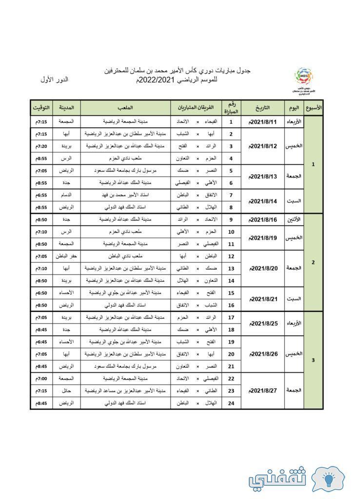 طريقة الاشتراك في الدوري السعودي