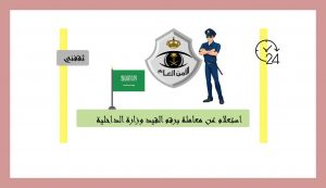الأمن العام استعلام عن معاملة برقم القيد وزارة الداخلية