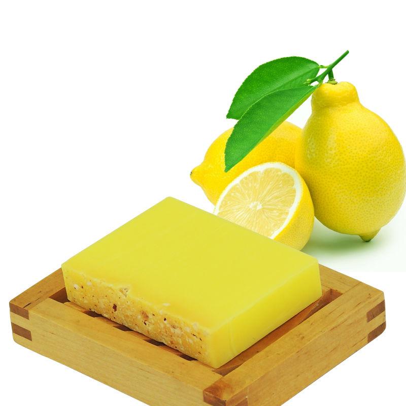 مكونات عمل صابونة الليمون للتفتيح البشرة