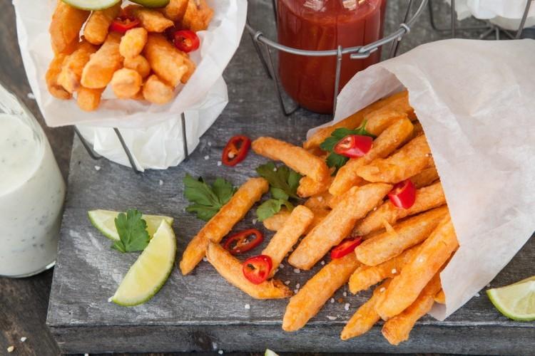 وصفات سهلة و سريعة لعمل أنواع مختلفة من البطاطس المقرمشة وجبات مدرسية