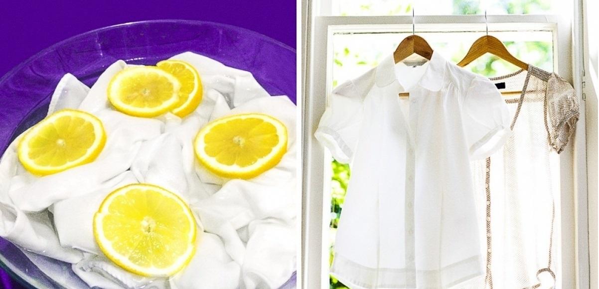 أقوي خلطة جبارة لتنظيف الملابس البيضاء والتخلص من الاصفرار والبقع هترجع زي الأول في دقائق