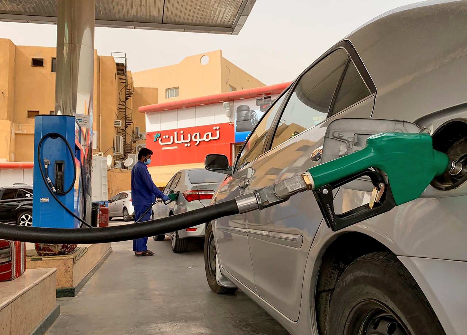اسعار البنزين ارامكو اكتوبر